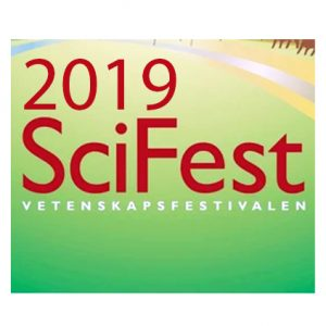 Vetenskapsfestivalen SciFest 7-9 mars på Fyrishov