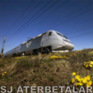 SJ återbetalar tågbiljetter med anledning av SAS-strejk