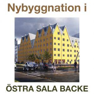 Taget: Första spadtaget för 132 nya lägenheter i östra Sala backe