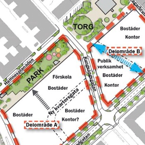 Nytt kvarter planeras i Kungsängen