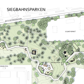 Siegbahnsparken invigs den 26 oktober