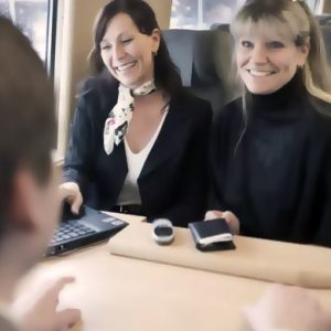 """SJ: """"Affärsresenärerna rusar till tåget"""""""