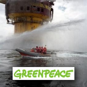 Greenpeace återupptar protester till havs i Nordsjön