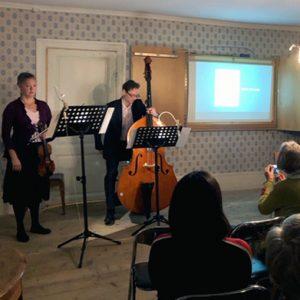 Fest hölls i Stabby prästgård till 200-årsminnet av Bábs födelse