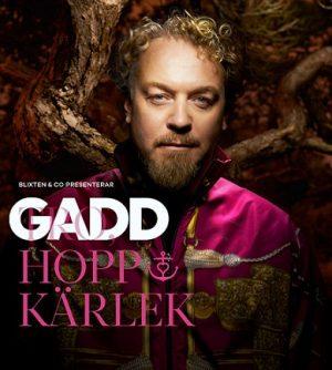 MUSIK: Eric Gadd kickar igång turné i Uppsala 12 mars