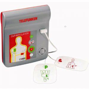 NOTERA: Telefunken och HeartReset hjärtstartare ska inte användas