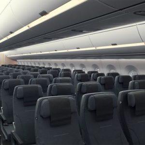 SAS PRESENTERAR FÖRSTA FLYGPLANET AV MODELLEN A350