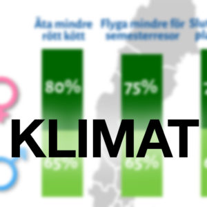 Klimatundersökning: 39 procent av svenskarna har redan bytt till en grön energileverantör