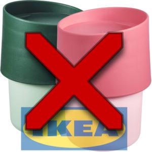 """IKEA återkallar resemuggen TROLIGTVIS då den inte """"lever upp till företagets krav"""""""