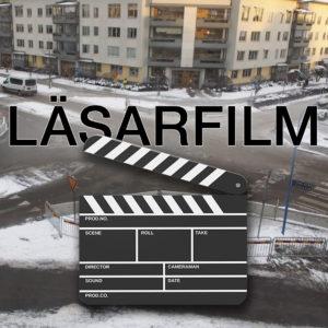 FILM | Det första spadtaget på rondellen i korsningen Börje- och Hällbygatan