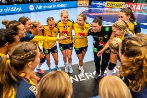 SPORT | Damlandslaget i handboll spelar EM-kval på IFU Arena i Uppsala