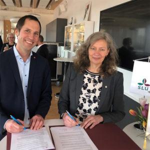 UPPSALA | Uk och SLU tecknade samverkansavtal