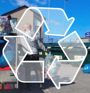MILJÖ | Nu kan du masspanta på återvinningscentralen i Librobäck