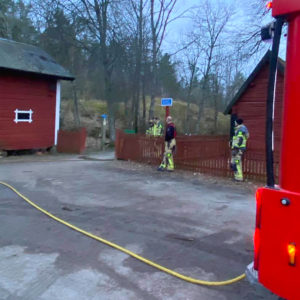 STABBY | Anlagda bränder vid prästgården och hoppbacken