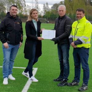 SPORT / MILJÖ | Uppsala först i världen med FIFA-godkänd granulatfri konstgräsplan