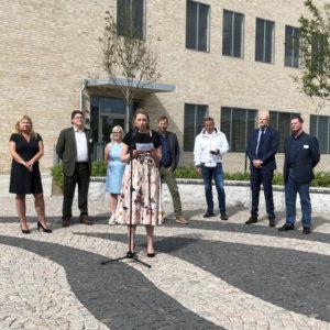 INVIGNING | All verksamhet igång i Akademiska sjukhusets nya vård- och behandlingsbyggnad