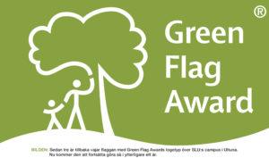 PRISAS | Campus Ultuna får Green Flag Award för fjärde året i rad