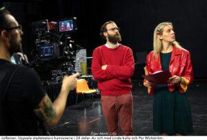 KULTUR | Uppsala stadsteater satsar digitalt – gör humorserie i 24 delar