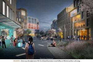 FYRISLUND | Ny plan för att utveckla Uppsala Business Park
