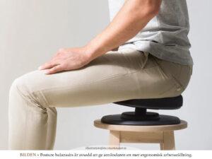 KROPP • HÄLSA | Sitt mer ergonomiskt med balanssits