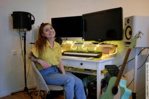 BESÖK HOS: Biim Frischenfeldt och hennes musikbolag YMU