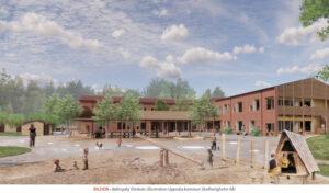 UPPSALA NORRA | Nya skolan i Bälinge växer fram