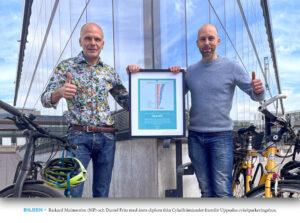 UTMÄRKELSE | För fjärde året i rad – Uppsala är Sveriges bästa cykelkommun