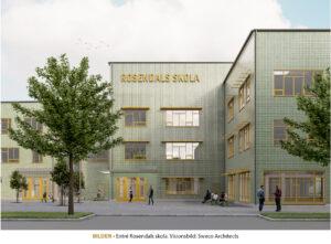 UPPSALA SYD | Klart för byggandet av Rosendals skola