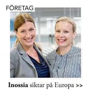 Uppsalabolaget Inossia tar klivet ut i Europa