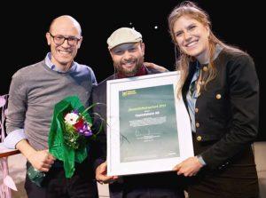Uppsalahem tog emot pris för sitt jämställdhetsarbete