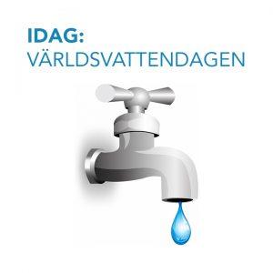 IDAG: Världsvattendagen — Förbrukningen minskar i Uppsala