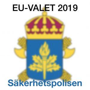 Säkerhetspolisen om sitt arbete med EU–valet 2019