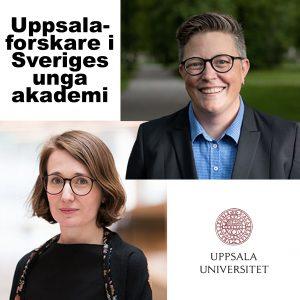Två Uppsalaforskare i Sveriges unga akademi