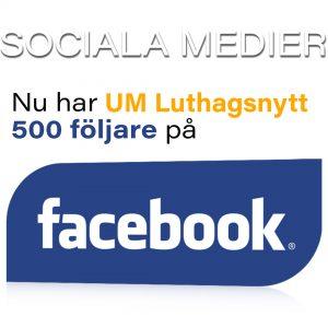 500 följer UMLN på Facebook!