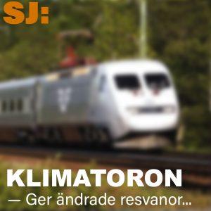Klimatoro ger kraftig förändring av svenskars resvanor