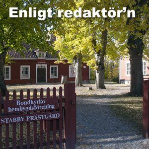 Enligt redaktör'n: Om kaféet i Stabby prästgård, idealism och en ev. morgondag
