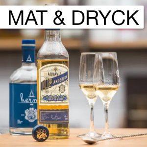 O.P. Anderson Hernö Juniper Cask Finish, resultatet av möte mellan klassisk Akvavit och nyskapande gin.