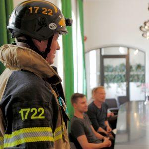 Såg du en brandman på din arbetsplats idag!?