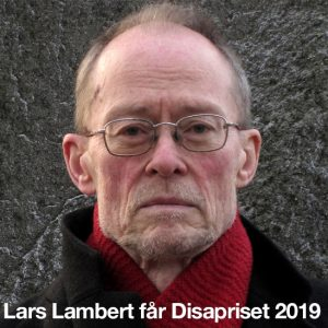 Lars Lambert tilldelas årets Disapris