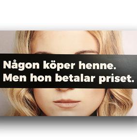 Ny kampanj för att minska efterfrågan på sexhandel