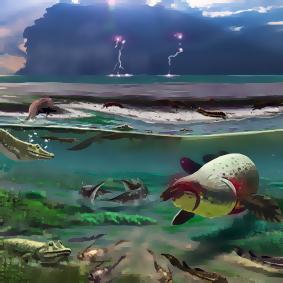 VETENSKAP: Nyupptäckt fyrfotadjur lämnade kanske aldrig vattnet