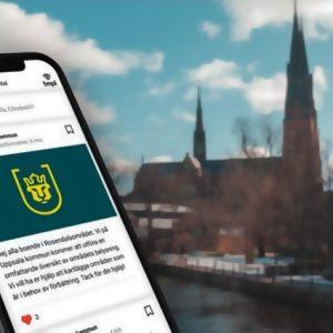 """Uppsala kommun berättar om byggstök i """"boappar"""""""