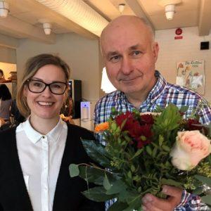 Uk:s utbildningsnämnds ledarskapspris till Valsätraskolans rektor