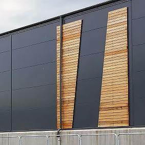 Beijer Byggmaterial i Uppsala med cederträ – störst och modernast i landet