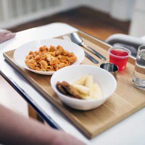 Bättre mat för bättre vård: Nya råd om måltiderna på sjukhus på remiss