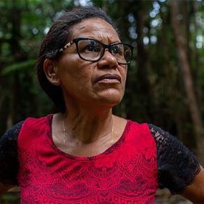 """Amazonas: """"Jag vägrar sälja min mark till de som skövlar regnskog"""""""