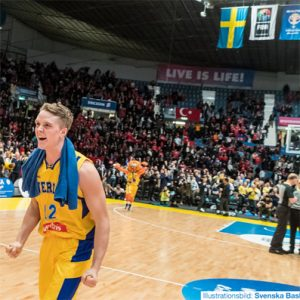 BASKET • EM-KVAL | Över 5000 biljetter sålda till Sverige-Turkiet 24 februari