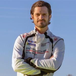 MOTORSPORT | Prins Carl Philip kör Porsche Carrera Cup Scandinavia