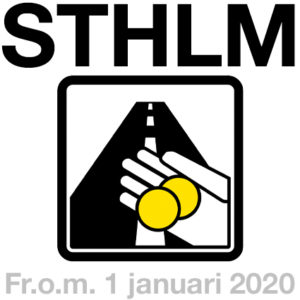 Trängselskatten som gäller i STHLM sedan 1 januari 2020