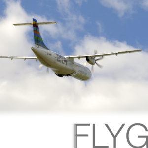 Flygtrafiken mellan Östersund och Bromma ökar till sju dagar per vecka